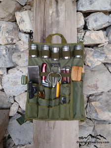 Back Country Utensil Pouch - Boondocking Camp Kitchen Utensil Organizer by Overland Gear Guy