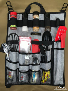 Back Country Utensil Pouch - Utensil Organizer by Overland Gear Guy