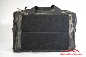 Custom Bauer Bag by Overland Gear Guy with velcro side