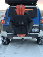Load image into Gallery viewer, Spare Tire Bag on a Toyota FJ