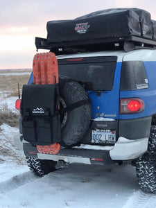 Spare Tire Bag on a Toyota FJ