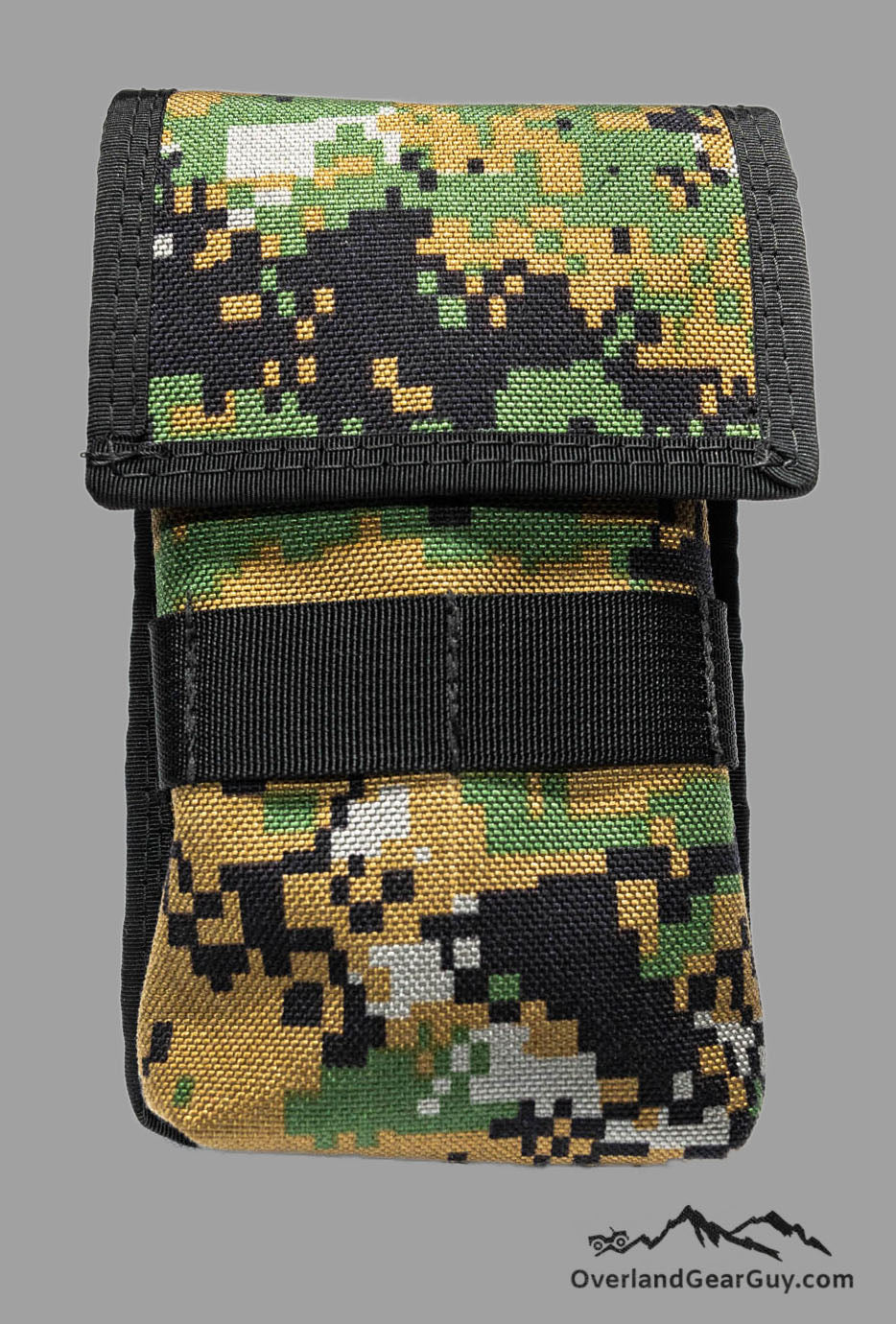 Cell Phone Deluxe Pocket with MOLLE by Overland Gear Guy