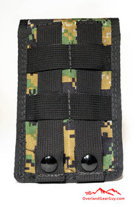 MARPAT Cell Phone Deluxe Pocket with MOLLE by Overland Gear Guy