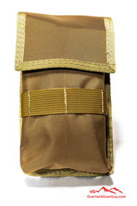 Coyote Cell Phone Deluxe Pocket with MOLLE by Overland Gear Guy