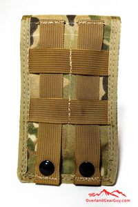 Crye Multicam Cell Phone Deluxe Pocket with MOLLE by Overland Gear Guy