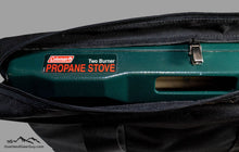 Load image into Gallery viewer, Coleman 2 Burner Stove Bag by Overland Gear Guy, Coleman 2 burner propane stove  bag