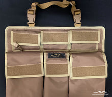 Load image into Gallery viewer, Universal Tan Seat Organizer by Overland Gear Guy - 4Runner Seat Organizer