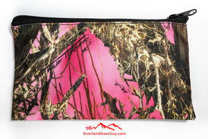 Pink Camo pouch by Overland Gear Guy