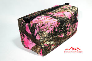 Pink Camo Toiletry Travel Bag by Overland Gear Guy
