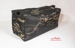 Black Crye Multicam Toiletry Bag by Overland Gear Guy