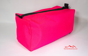 Hot Pink Toiletry Bag by Overland Gear Guy