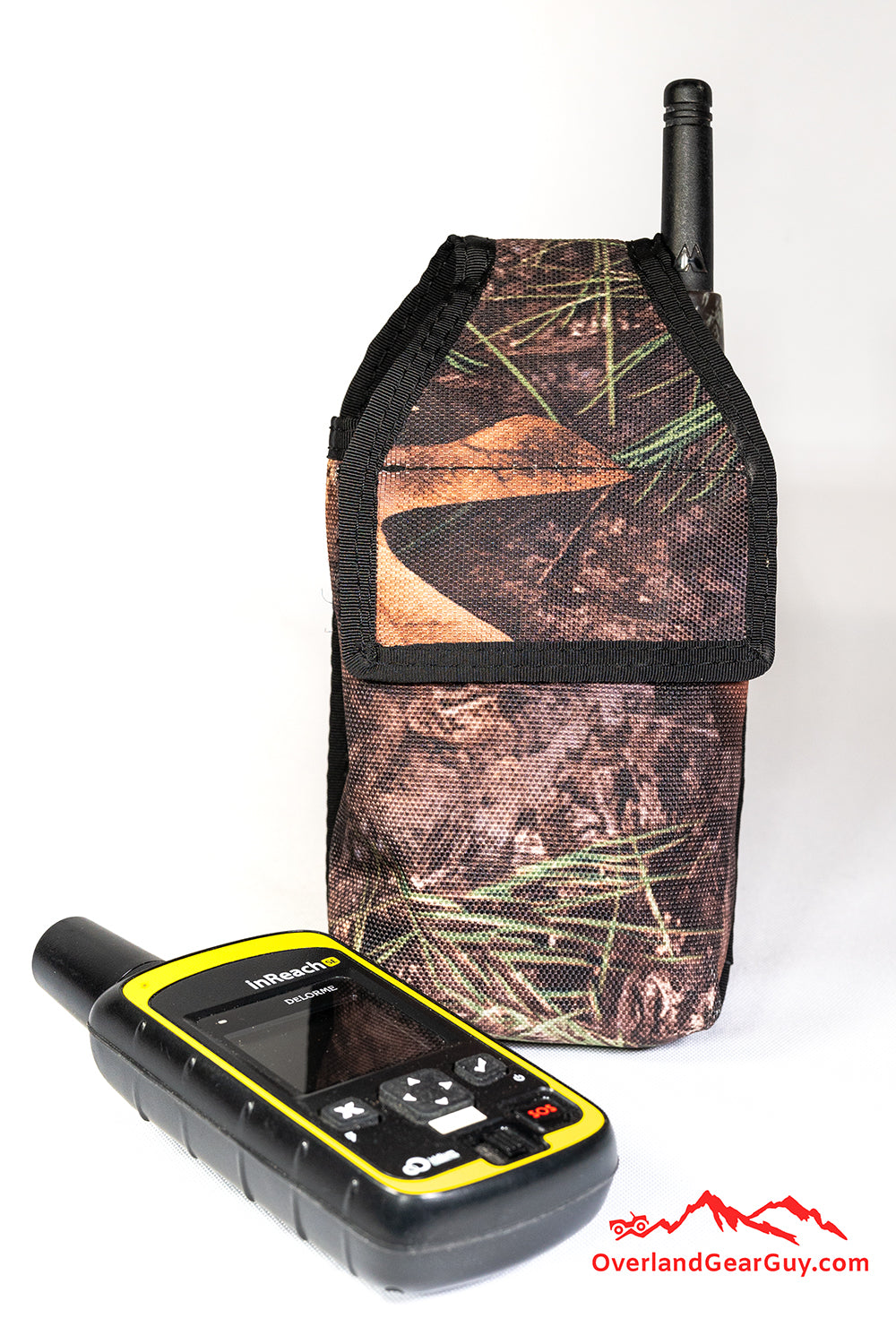 Custom GPS MOLLE pouch, custom FRS radio pocket MOLLE