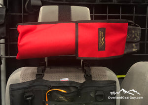 Headrest Fire Extinguisher Pouch by Overland Gear Guy - Available in multiple colors