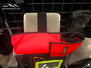 Headrest Fire Extinguisher Pouch by Overland Gear Guy - Car Fire Extinguisher Holder