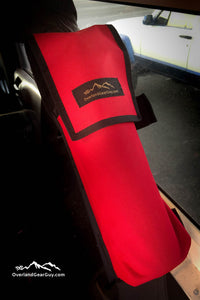 Jeep Fire Extinguisher Pouch by Overland Gear Guy - Available in multiple colors
