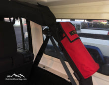 Load image into Gallery viewer, Fire Extinguisher Pouch for Jeep Roll Bar by Overland Gear Guy - Available in multiple colors