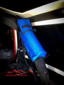 Wrangler Jeep Fire Extinguisher Pouch Blue