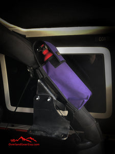 Jeep Fire Extinguisher Pouch Purple