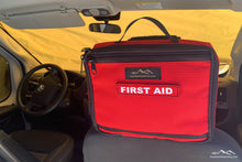 Load image into Gallery viewer, First Aid kit headrest pouch, vehicle first aid kit, headrest first aid kit