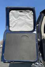 Load image into Gallery viewer, Ford E350 Van Deluxe Insulated Magnetic Rear Door Window Covers by Overland Gear Guy