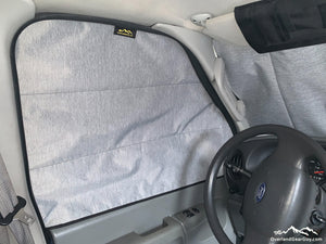 Insulated Window Covers for Ford Econoline Van by Overland Gear Guy - Van Econo van accessories