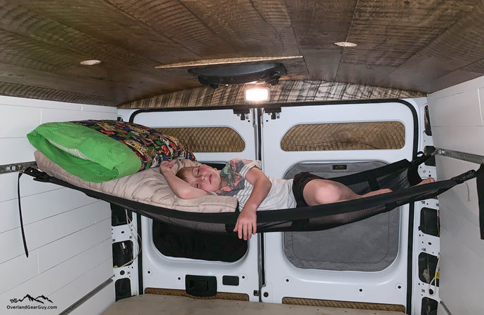 Camper Van Hammock by Overland Gear Guy - Van Life Accessories