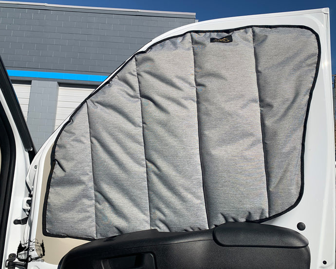 Havelock Wool insulated Window Covers for Promaster van by Overland Gear Guy
