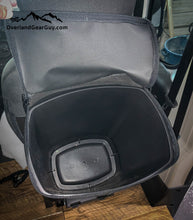 Load image into Gallery viewer, Large Headrest Trash Bag, Soft sided trash bag by Overland Gear Guy