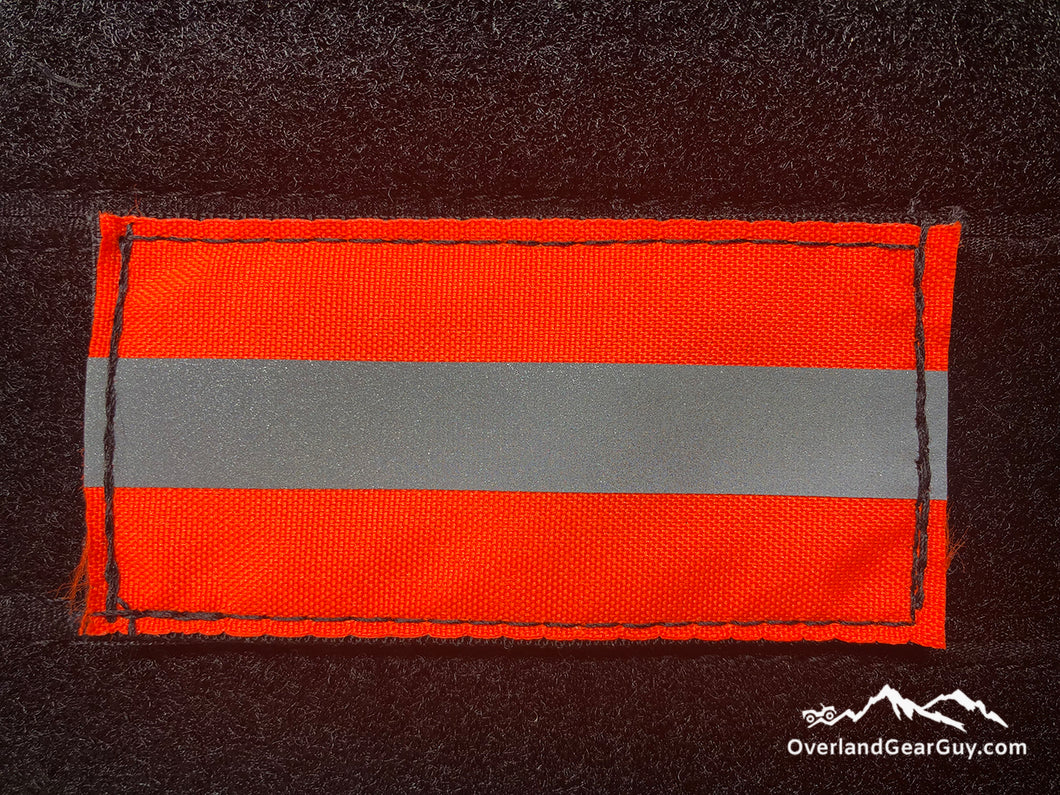 Fluorescent Orange Reflective Patch by Overland Gear Guy
