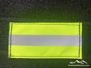 Fluorescent Lime Reflective Patch by Overland Gear Guy