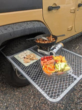 Load image into Gallery viewer, Aluminum Tailgater Tire Table