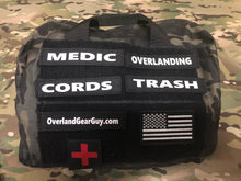 Load image into Gallery viewer, Custom velcro ID tags by Overland Gear Guy