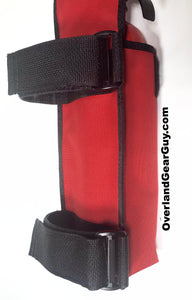 Fire Extinguisher Pouch for Jeep Wrangler by Overland Gear Guy - Available in multiple colors