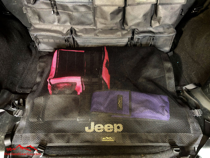 Jeep Rear Cargo Net by Overland Gear Guy