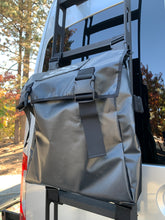 Load image into Gallery viewer, Saint Helens Trail Bag by Overland Gear Guy is great for stowing trash, recycle, dirty boots, recovery gear. Spare Tire Storage Bag, Off Road Tire Trash Bag, Camping Trash Bag, Overland Gear, overland gear. Camping Trash Bag, Spare Tire Recycle Bag, Camp accessories
