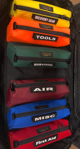 Modular Tool Pouch with velcro ID tag by Overland Gear Guy