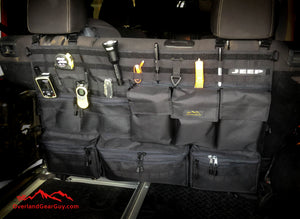 Jeep Rear Seat Organizer Ultimate Back Seat Organization