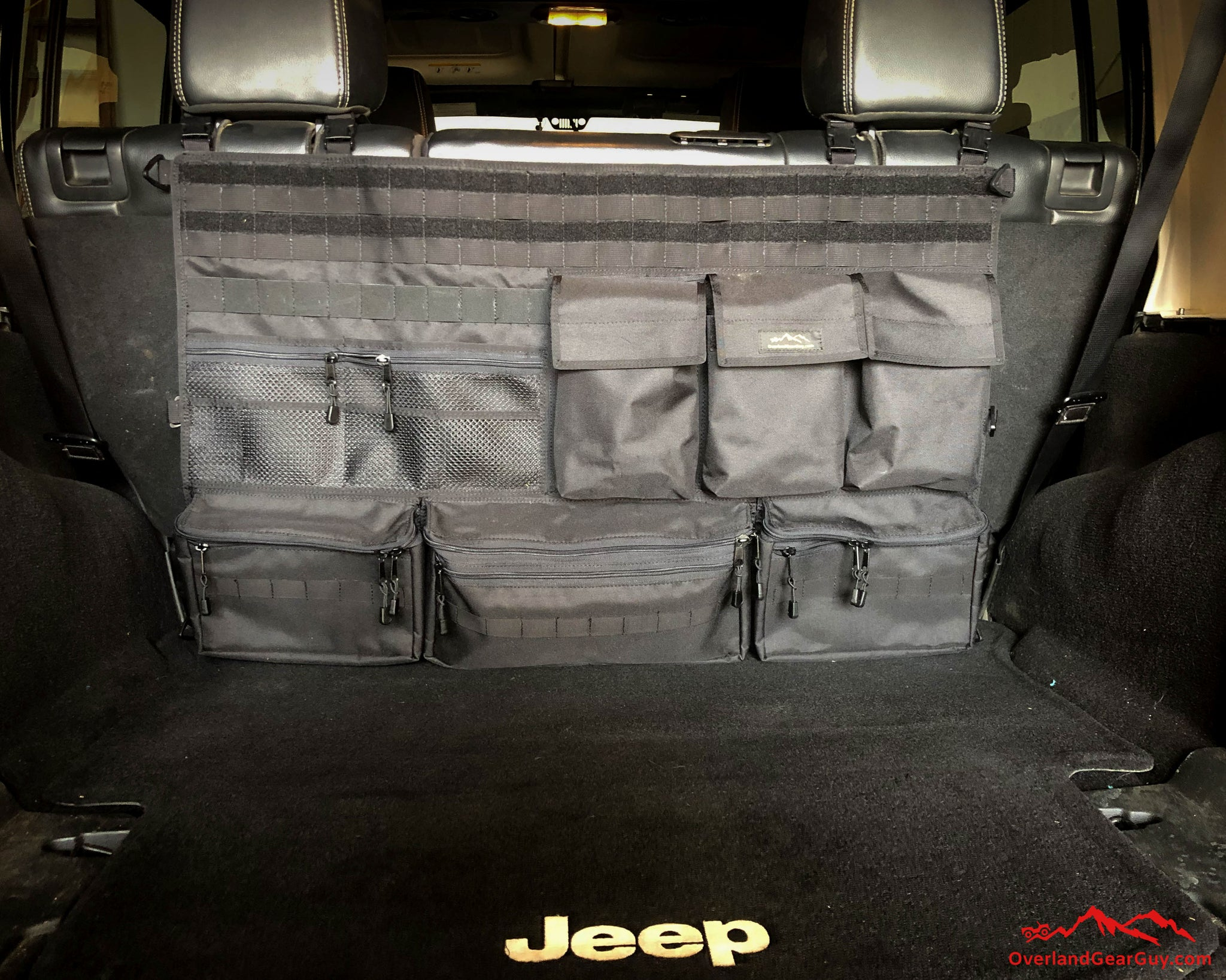 04729106bb Load image into Gallery viewer, Jeep Rear Cargo Area Organizer ...