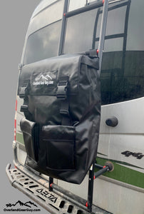 Ladder Trash Bag by Overland Gear Guy - Trash Bag for ladder rung