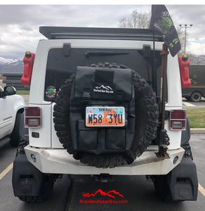 Jeep MOLLE License Plate Holder