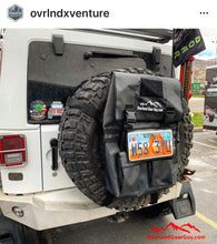 Load image into Gallery viewer, MOLLE License Plate Holder Spare Tire