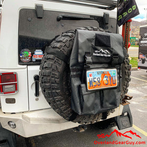 Spare Tire MOLLE License Plate Holder