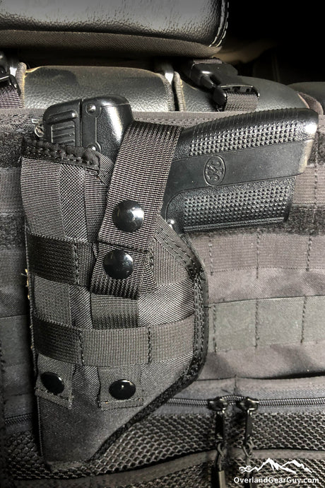 MOLLE Gun Holster by Overland Gear Guy