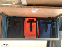 Load image into Gallery viewer, Mule Bag Divider Pouch by Overland Gear Guy, Overhead Cabinet Divider Pouch