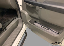 Load image into Gallery viewer, Custom Door Cubby Pouches for Nissan NV, Nissan NV van accessories by Overland Gear Guy, Electrical storage bag