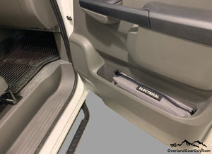 Custom Door Cubby Pouches for Nissan NV, Nissan NV van accessories by Overland Gear Guy, Electrical storage bag
