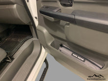 Load image into Gallery viewer, Custom Door Cubby Pouches for Nissan NV, Nissan NV van accessories by Overland Gear Guy, Dog gear bag