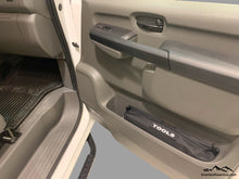 Load image into Gallery viewer, Custom Door Cubby Pouches for Nissan NV, Nissan NV van accessories by Overland Gear Guy, tool bag storage