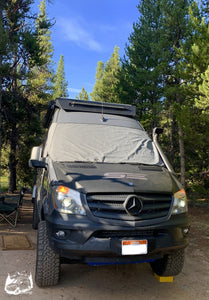 Exterior Windshield Cover by Overland Gear Guy, Outer Windshield Cover