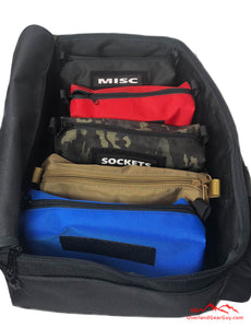 Overland Tool Bag Organizer - Modular Tool Bag, Off Road Tool Bag by Overland Gear Guy